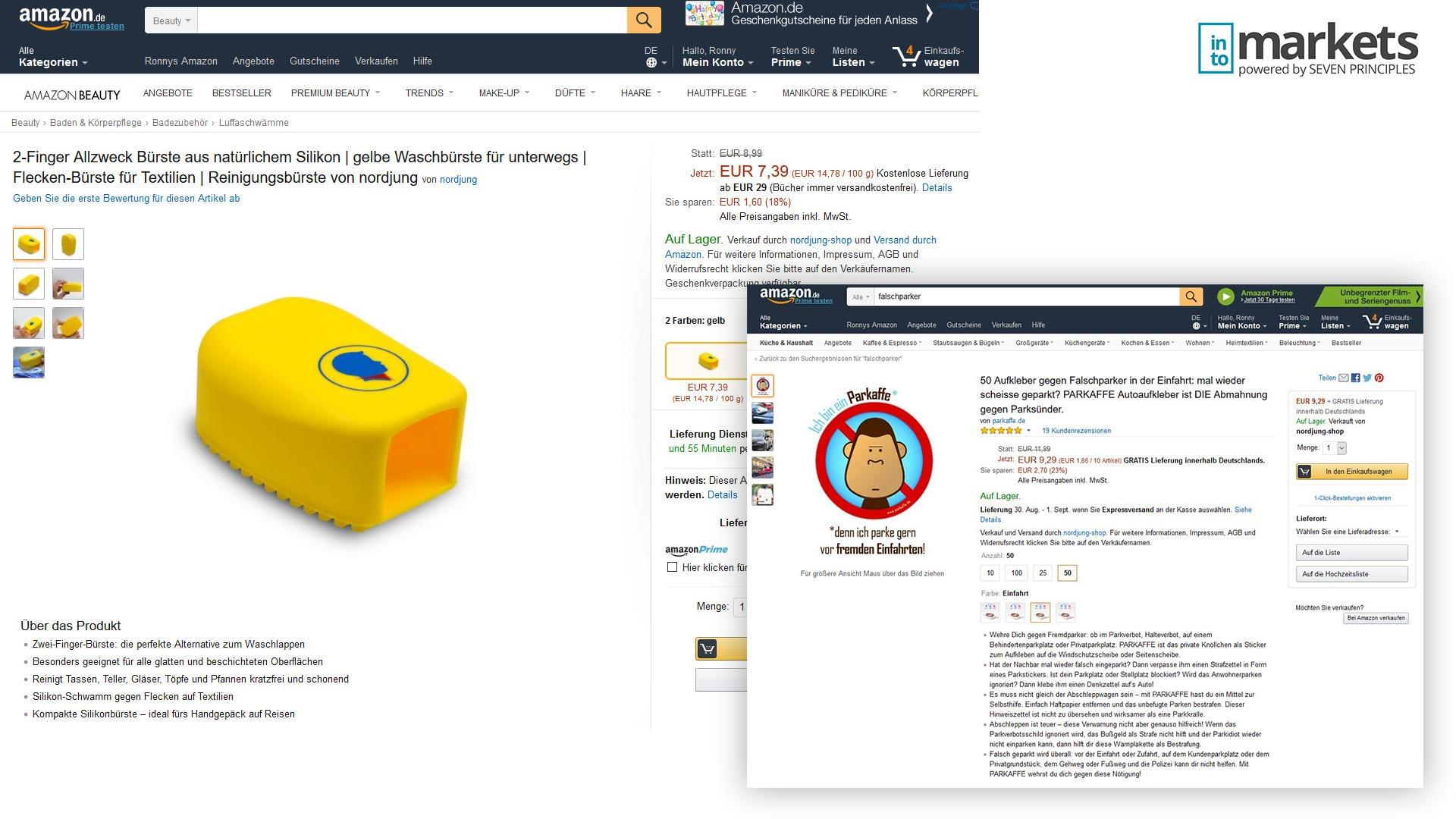 Amazon Design Update