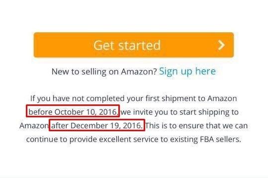 Amazon FBA Sperre