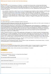 amazon-markenrechtsverletzung-infringement-formular