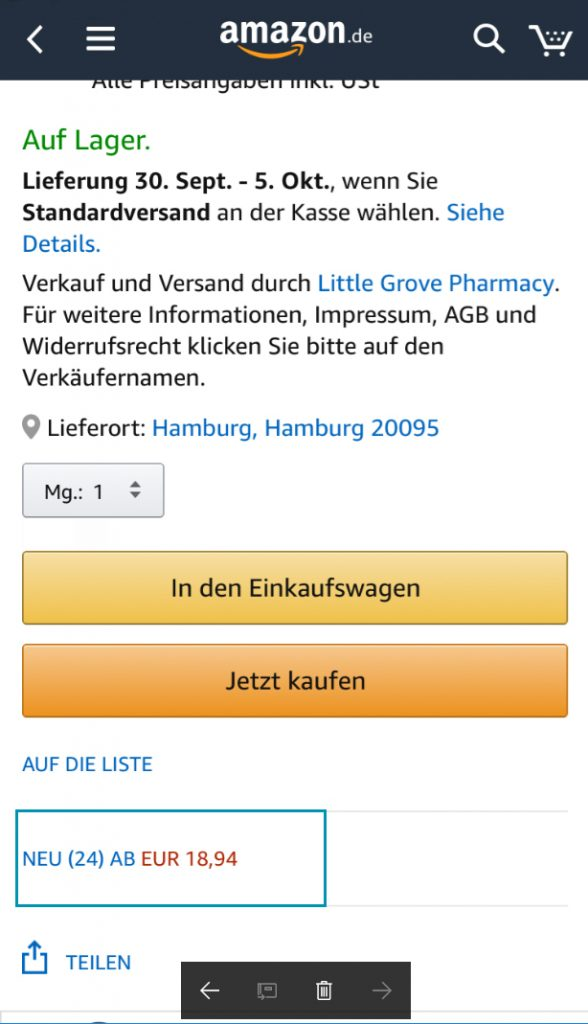 Amazon BuyBox Mobile