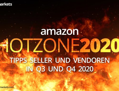 Amazon HOTZONE 2020 for Sellers and Vendors: Prime Day, Black Friday and Christmas Shopping