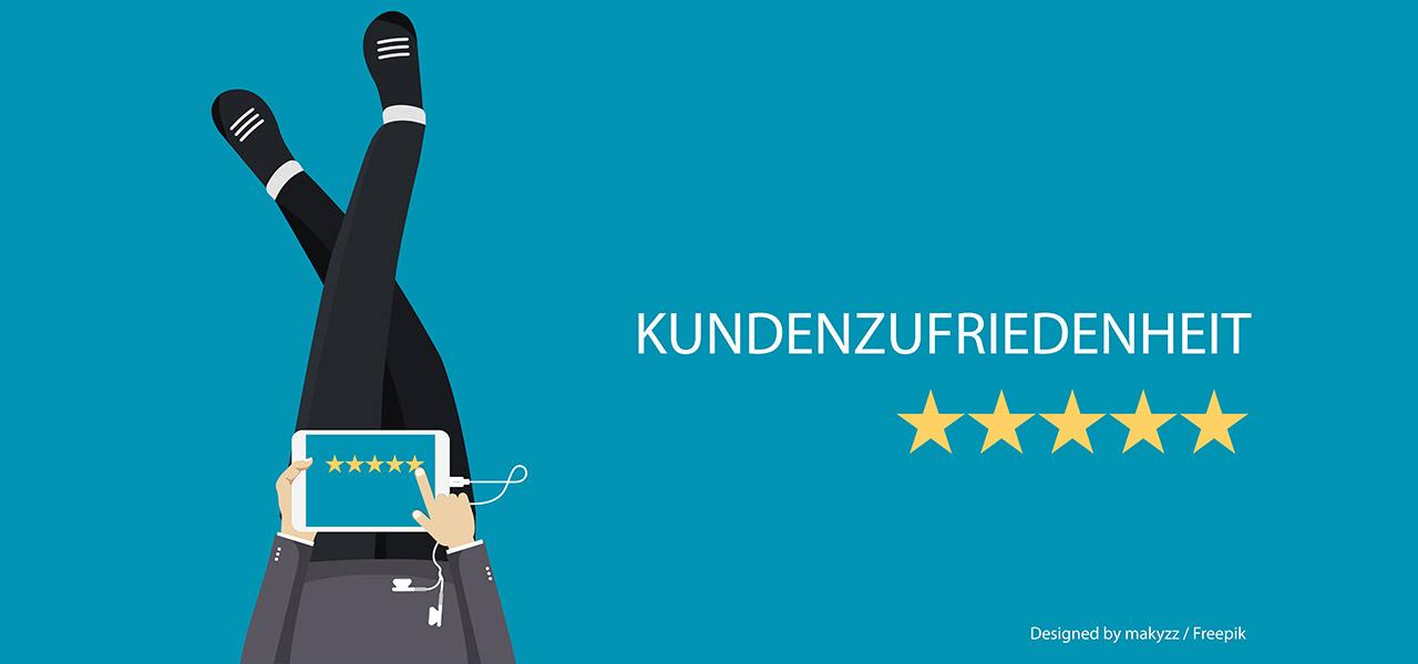 Amazon-Kundenzufriedenheit-Sternebewertung