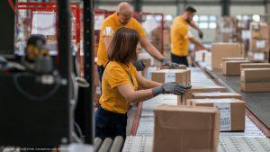 Amazon Logistikzentren besuchen