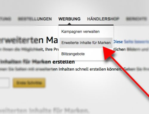 Amazon Enhanced Brand Content (EBC) für Seller verfügbar