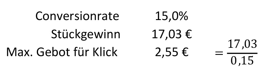 maximales-klick-gebot-berechnen