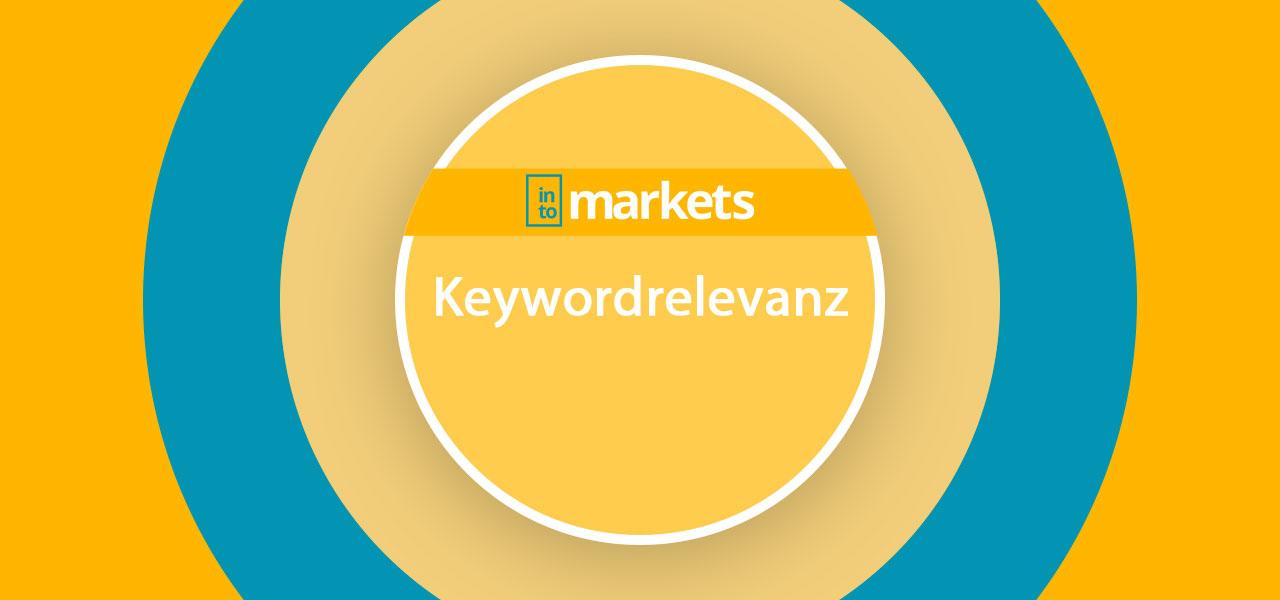 Keywordrelevanz auf Amazon