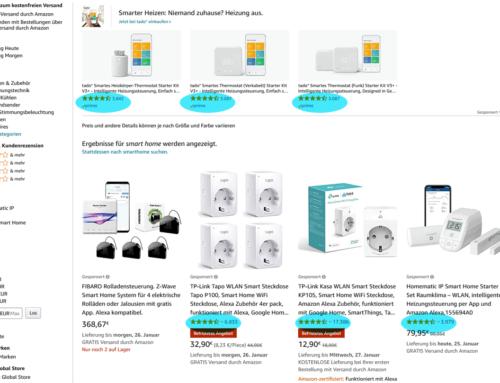 Wie Kundenrezensionen die Amazon Sponsored Ads beeinflussen