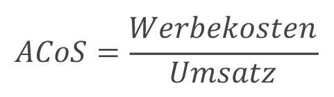 acos-berechnen-formel