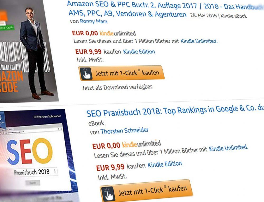 Amazon 1-Click Shopping direkt aus den Suchergebnissen