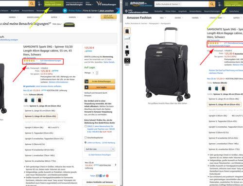 Amazon Produktbewertungen im Wandel – Wann werden wie viele Rezensionen angezeigt?