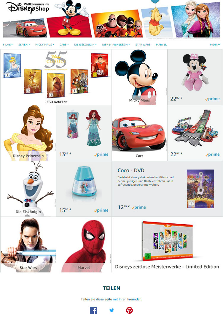 amazon-brand-store-beispiel-disney