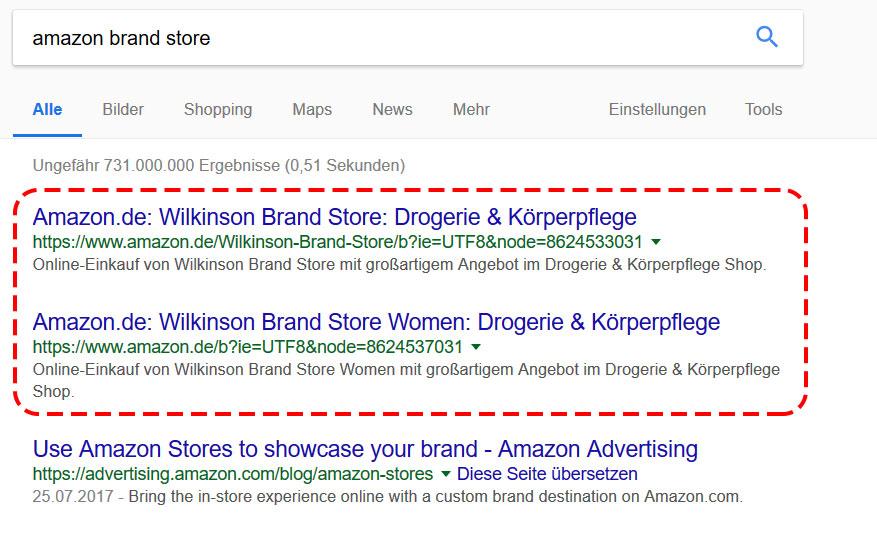 amazon-brand-store-google-suche