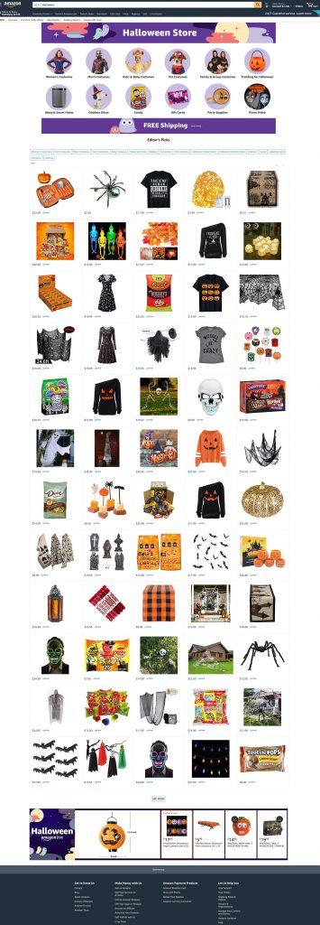 amazon-com-landingpage-halloween-suchergebnisse