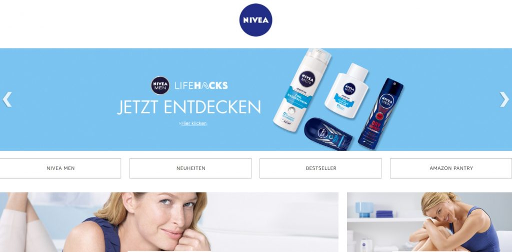 amazon markenshop nivea