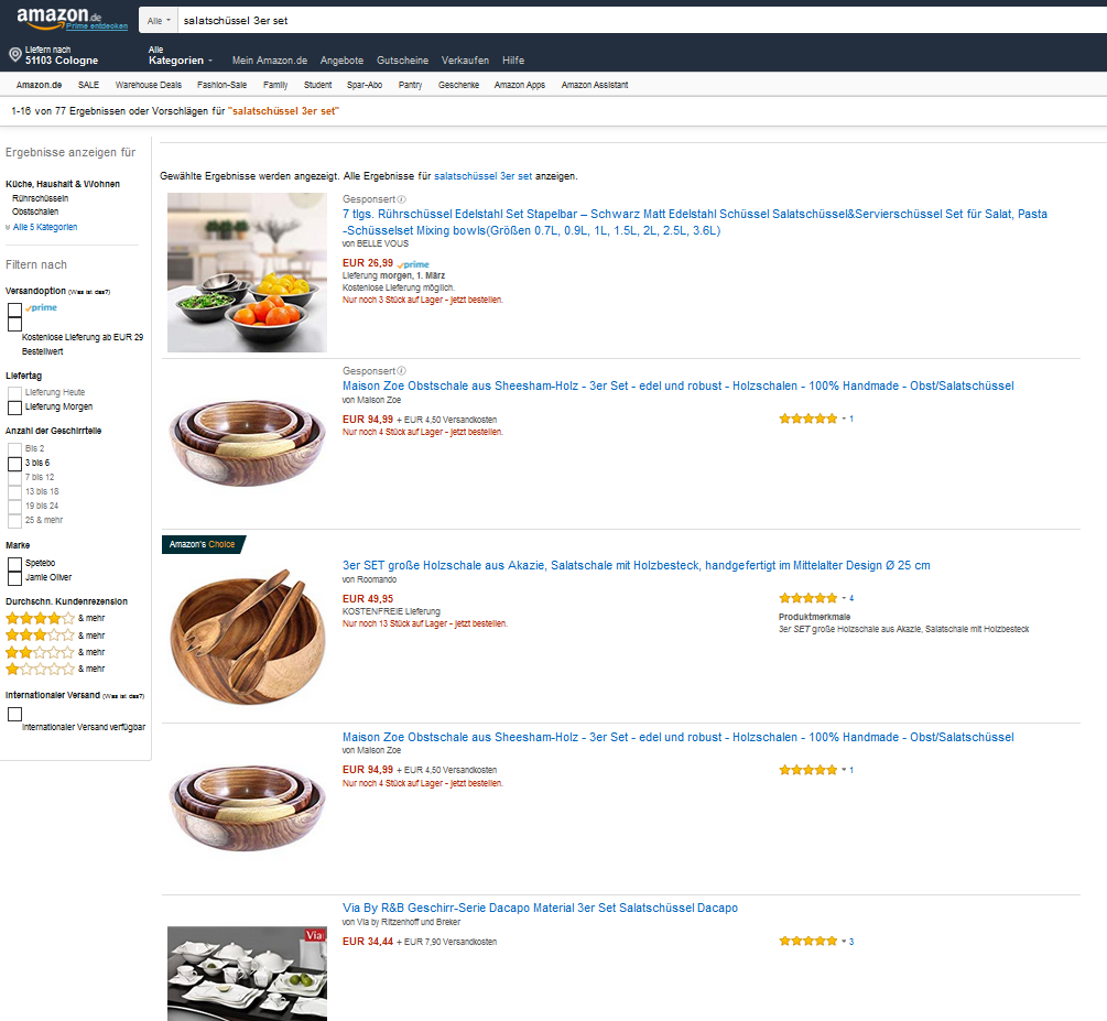 amazon-pareto-screen-suchergebnisliste-keywords
