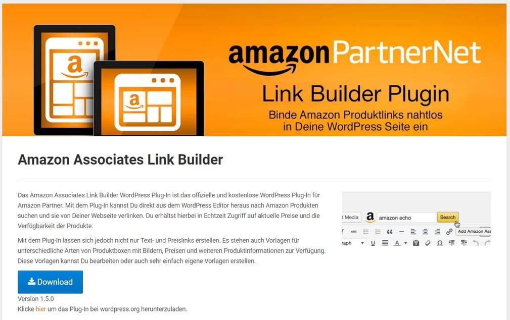 amazon partnernet wordpress plugin