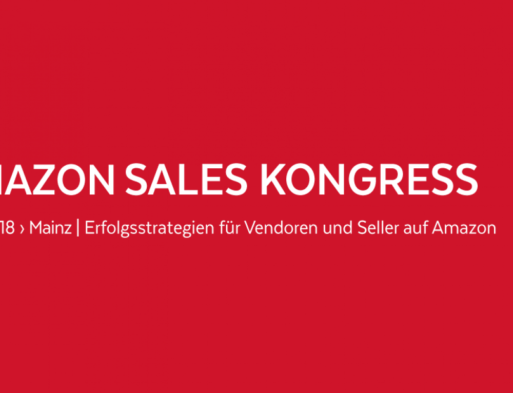 Amazon Sales Kongress 2018