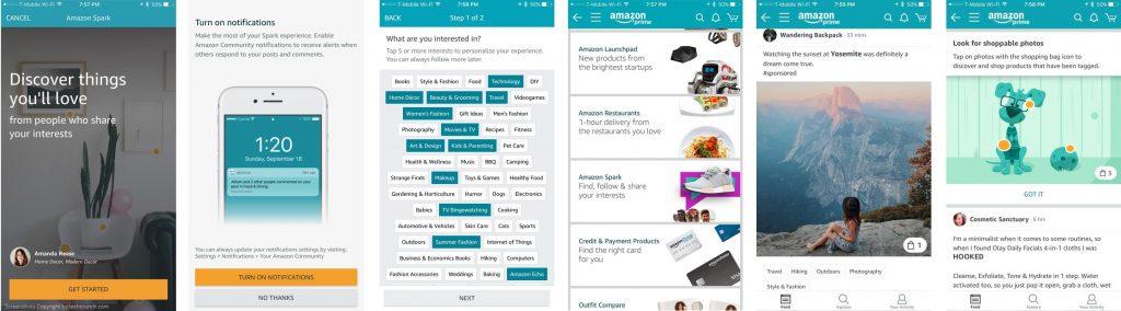 amazon-spark-app-screenshots
