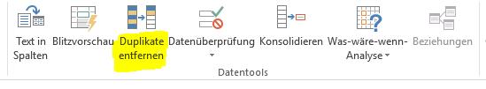 excel-screenshot-duplikate-entfernen