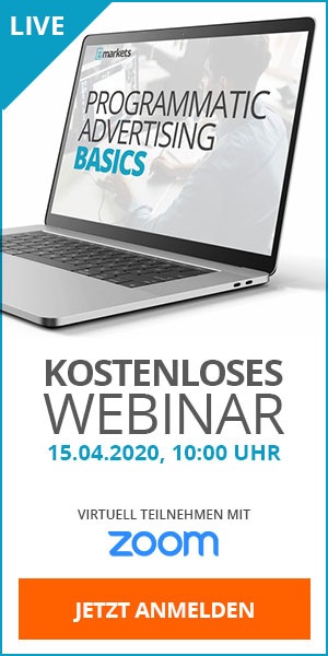 Webinar Programmatic Advertising