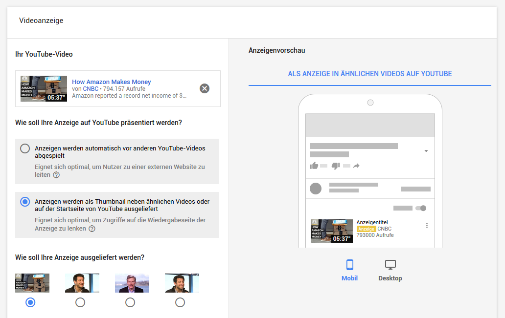 youtube-advertising-kampagnen-setup
